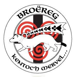 Logo de la kevrenn Bro Ereg du parti indépendantiste breton Adsav.